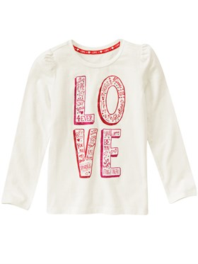 Gymboree Love Sweatshirt