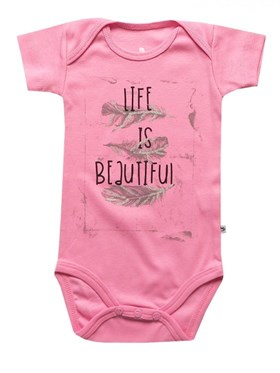 Bebeque Life Is Beautiful Body - Pembe