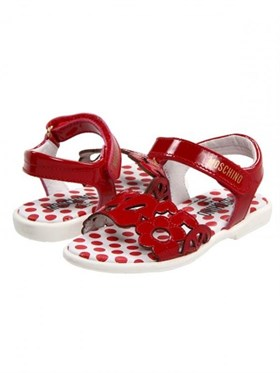 Moschino Rosso Sandalet