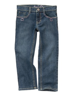 Gymboree Heart Denim Pantolon