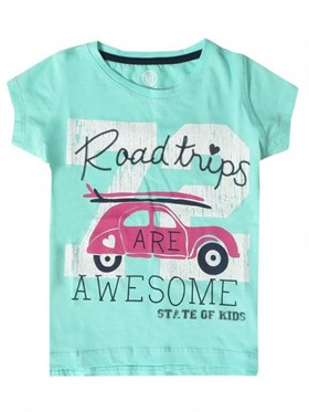 State of Kids Road Trips T-Shirt