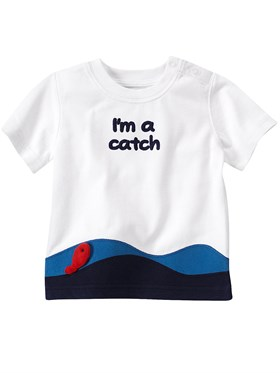 Gymboree Im A Catch T-Shirt
