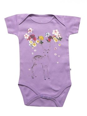 Bebeque Minik Bambi Body - Purple