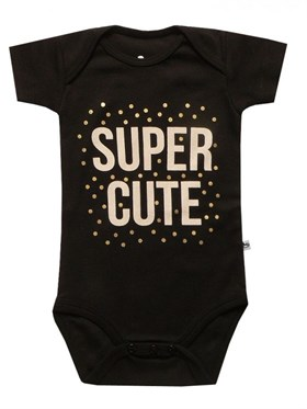 Bebeque Super Cute Body - Siyah