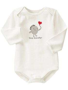 Gymboree Love Monster Body
