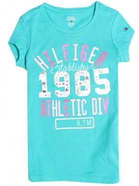 Tommy Hilfiger Athletic Div T-Shirt Mavi