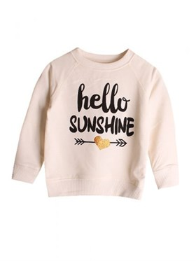 Bebeque Lolo Hello World Sweatshirt