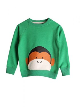 Bebeque Lolo Little Monkey Sweatshirt