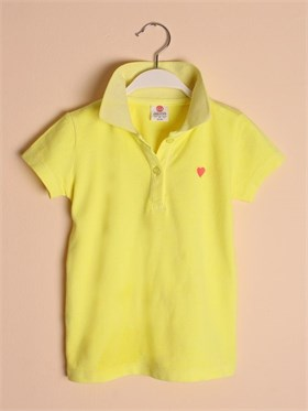 State of Kids Florida Polo T-Shirt-Neon