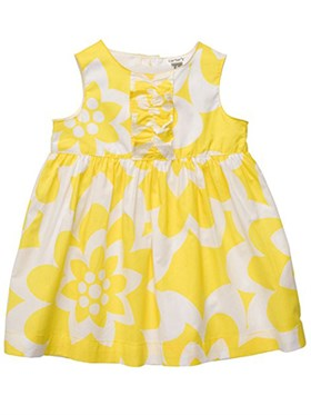 Carters Floral Elbise