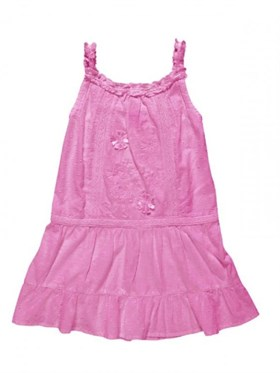 Chicco Pink Jersey Elbise
