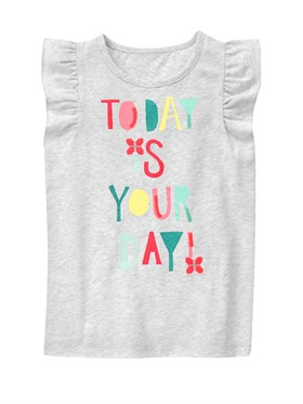 Gymboree Today Is Your Day T-Shirt